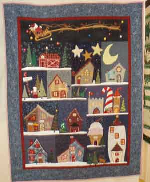 Nancy Ely_2nd Place_Small Quilts_2007 Show_South Shore Stitchers, Tuckahoe, NJ