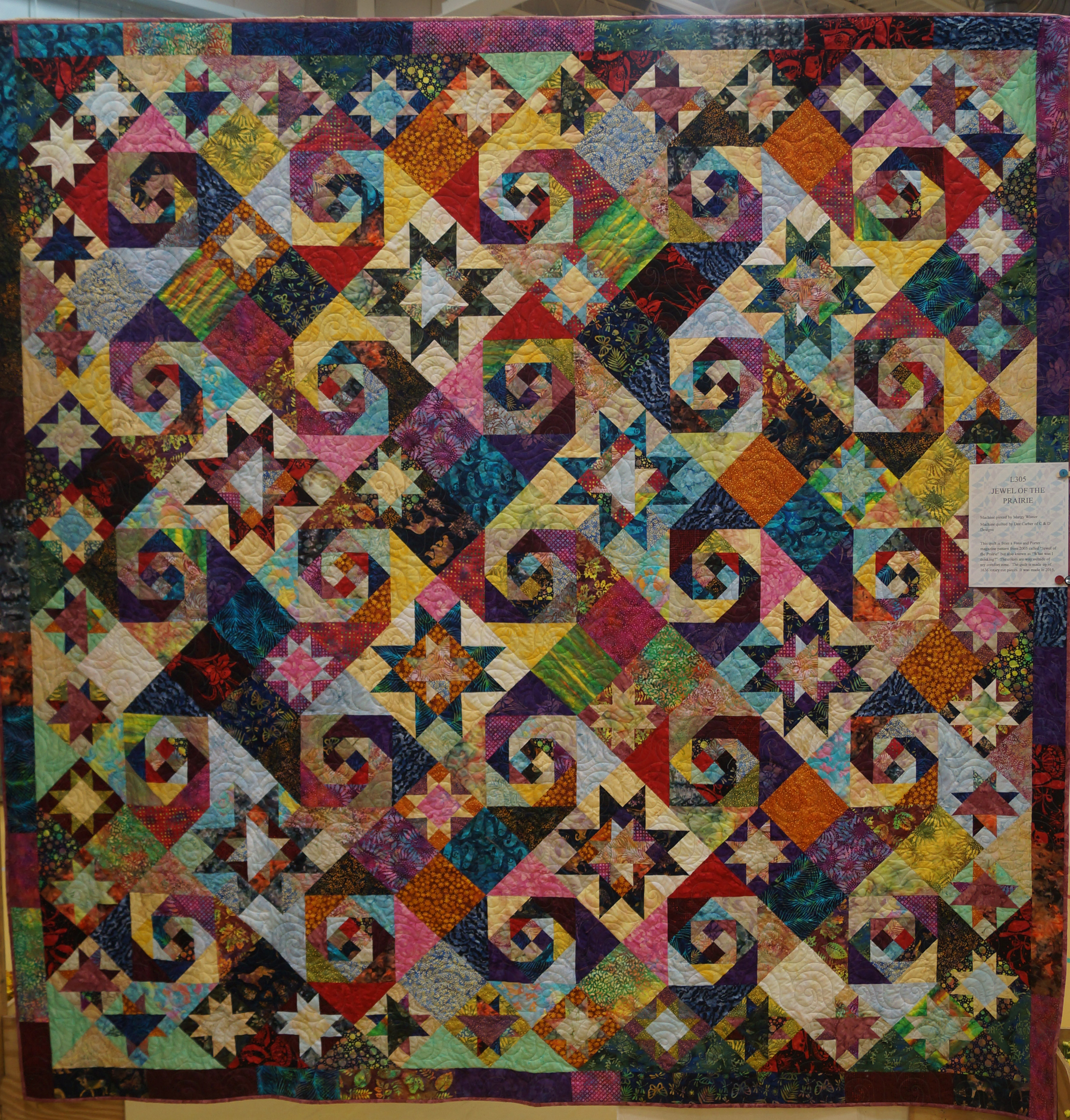 South Shore Stitchers-2015 Show Page : kaleidoscope quilts - Adamdwight.com