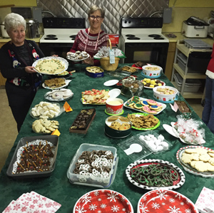 Cookie Table - Dec. 2019 Guild Meeting